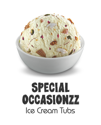 Special occasionzz ice ceram tubs
