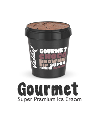 Gourmet super ice cream